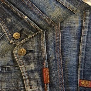 7 For All Mankind Button Pocket RARE Mens Jean